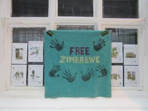 Free Zimbabwe Banner