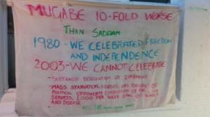 Mugabe 10-Fold Worse Banner